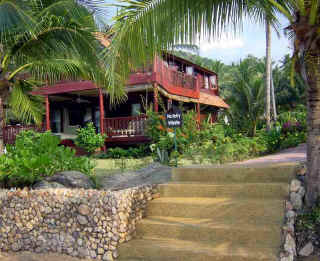 Our luxury villa is situated on the north coast of the island having easy access to all the island's scenic attractions